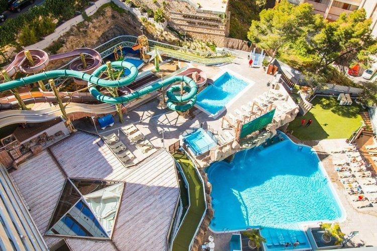 Панорамный вид Отель Magic Rock Gardens Бенидорме