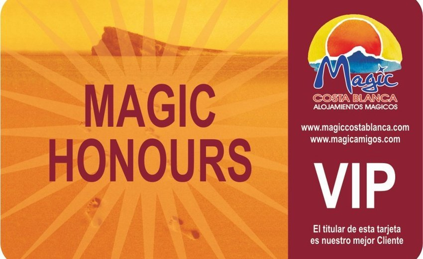 Club VIP 'Magic Honours' Magic Aqua™ Rock Gardens Бенидорме