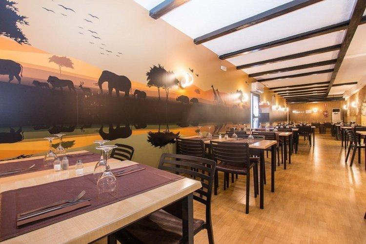 Ресторан Отель Magic Rock Gardens Бенидорме