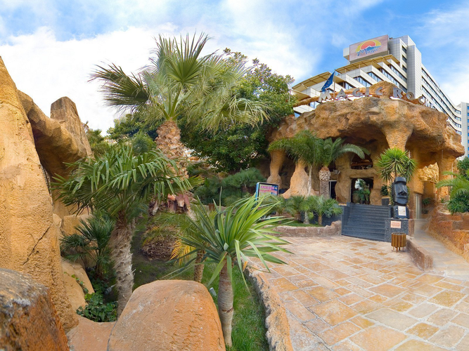 Отель magic aqua rock gardens Отель magic rock gardens бенидорме
